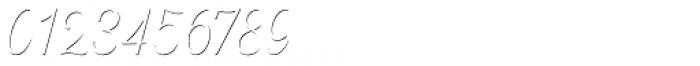 Heiders Script C Sh1 Ext Light Font OTHER CHARS