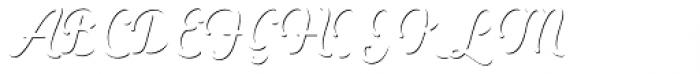 Heiders Script C Sh1 Light Font UPPERCASE
