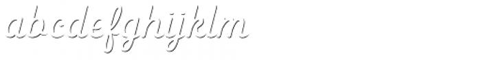 Heiders Script C Sh1 Light Font LOWERCASE