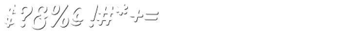 Heiders Script C Sh1 Regular Font OTHER CHARS