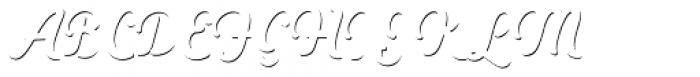 Heiders Script C Sh1 Regular Font UPPERCASE