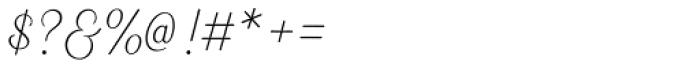 Heiders Script R Ext Light Font OTHER CHARS