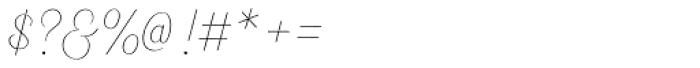 Heiders Script R Line Font OTHER CHARS