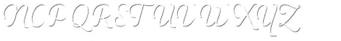 Heiders Script R Sh1 Ext Light Font UPPERCASE