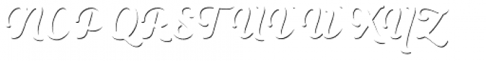 Heiders Script R Sh1 Regular Font UPPERCASE