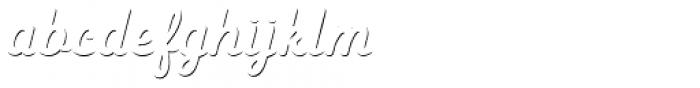 Heiders Script R Sh1 Regular Font LOWERCASE