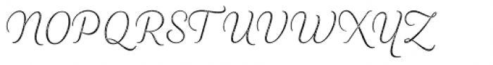 Heiders Script R2 Ext Light Font UPPERCASE