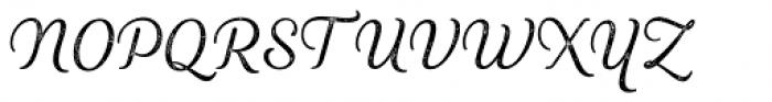Heiders Script R2 Light Font UPPERCASE