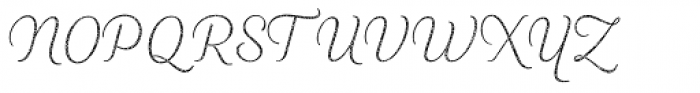 Heiders Script R4 Ext Light Font UPPERCASE