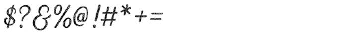 Heiders Script R4 Light Font OTHER CHARS