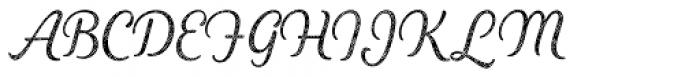 Heiders Script R4 Light Font UPPERCASE