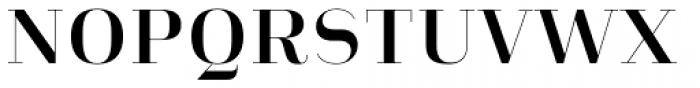 Heimat Didone 10 Bold Font UPPERCASE