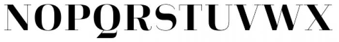 Heimat Didone 10 Extra Bold Font UPPERCASE