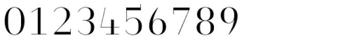 Heimat Didone 10 Light Font OTHER CHARS