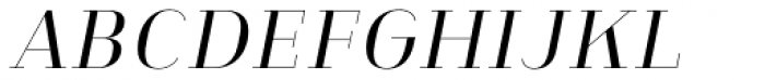 Heimat Didone 10 Regular Italic Font UPPERCASE