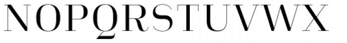 Heimat Didone 10 Regular Font UPPERCASE