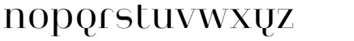 Heimat Didone 10 Regular Font LOWERCASE