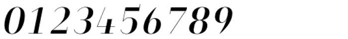 Heimat Didone 10 Semi Bold Italic Font OTHER CHARS