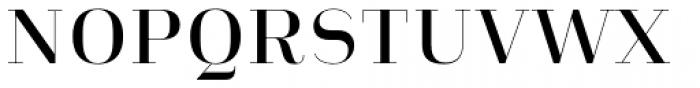 Heimat Didone 10 Semi Bold Font UPPERCASE