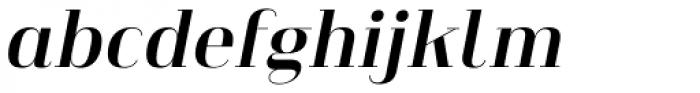 Heimat Didone 12 Bold Italic Font LOWERCASE