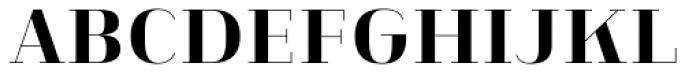 Heimat Didone 12 Extra Bold Font UPPERCASE