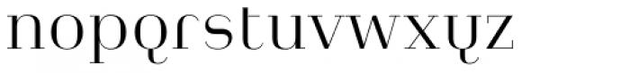 Heimat Didone 12 Light Font LOWERCASE