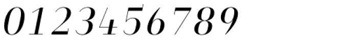 Heimat Didone 12 Regular Italic Font OTHER CHARS