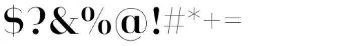 Heimat Didone 12 Semi Bold Font OTHER CHARS