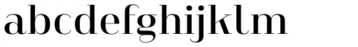 Heimat Didone 12 Semi Bold Font LOWERCASE