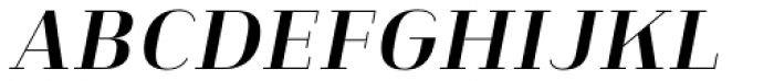 Heimat Didone 16 Bold Italic Font UPPERCASE
