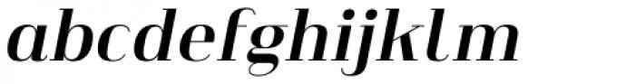 Heimat Didone 16 Bold Italic Font LOWERCASE