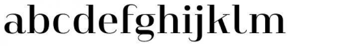 Heimat Didone 16 Semi Bold Font LOWERCASE
