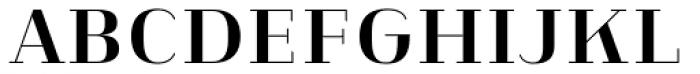 Heimat Didone 18 Bold Font UPPERCASE