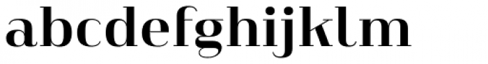 Heimat Didone 18 Bold Font LOWERCASE