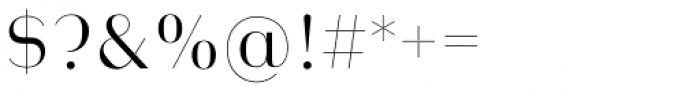 Heimat Display 12 Light Font OTHER CHARS