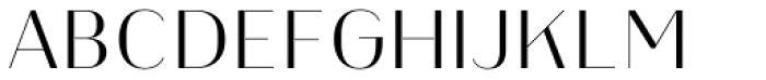 Heimat Display 12 Light Font UPPERCASE