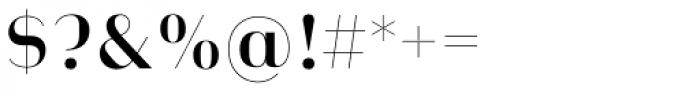 Heimat Display 12 Semi Bold Font OTHER CHARS