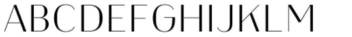 Heimat Display 14 Extra Light Font UPPERCASE