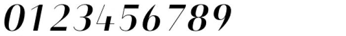 Heimat Display 14 Semi Bold Italic Font OTHER CHARS