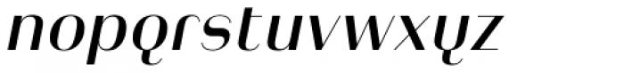 Heimat Display 14 Semi Bold Italic Font LOWERCASE