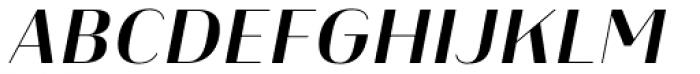 Heimat Display 16 Bold Italic Font UPPERCASE