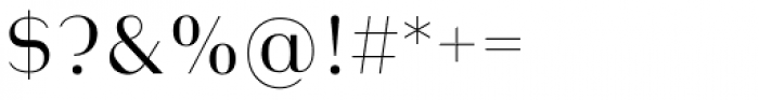 Heimat Display 18 Light Font OTHER CHARS