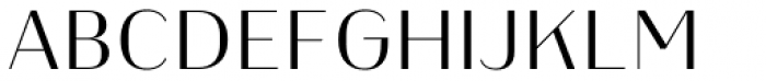 Heimat Display 18 Light Font UPPERCASE