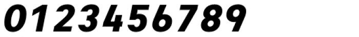 Heimat Mono ExtraBold Italic Font OTHER CHARS