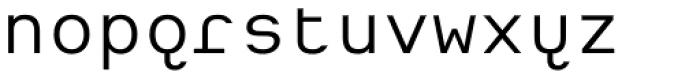 Heimat Mono Font LOWERCASE