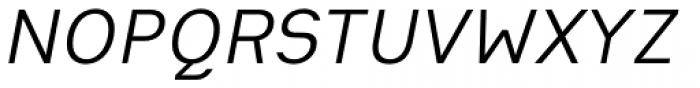 Heimat Sans Italic Font UPPERCASE