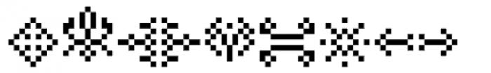 Hein Recueil Symbol Font UPPERCASE