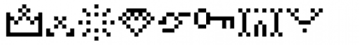 Hein Recueil Symbol Font LOWERCASE