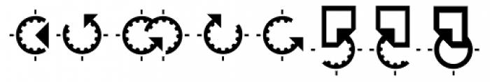 Hein TX2 Symbol Font UPPERCASE