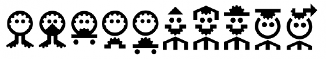 Hein TX2 Symbol Font LOWERCASE